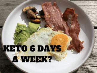 keto 6 days a week