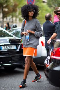 Julia Sarr-Jamois at Chloe