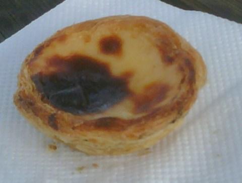 A Portuguese egg tart