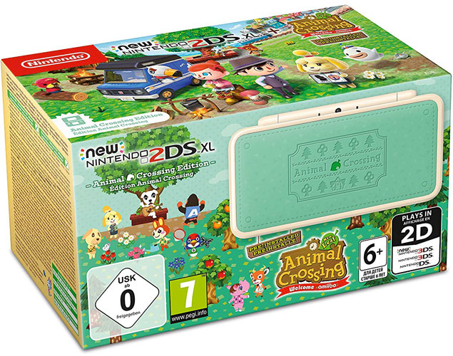 New Nintendo 2DS XL e Animal Crossing: New Leaf (Welcome amiibo)