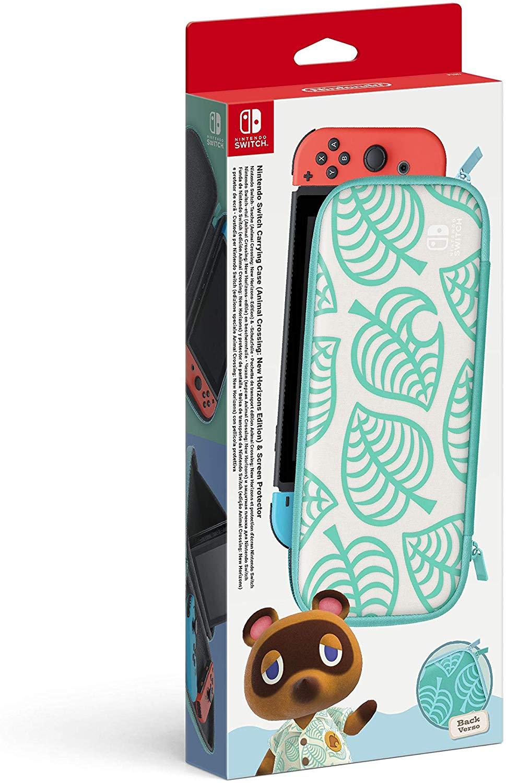 Custodia e Pellicola Protettiva Animal Crossing: New Horizons Edition