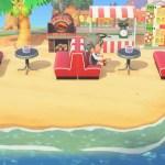Pizza Beach Cafe Design Animal Crossing New Horizon Animal Crossing New Horizons Design Inspiration