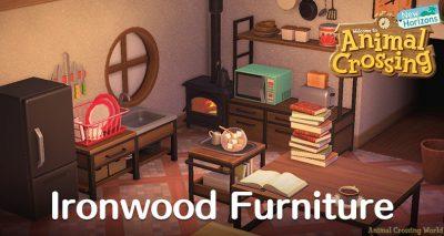 Animal Crossing: New Horizons (ACNH) Guides - Unlocks ... on Ironwood Animal Crossing  id=87288
