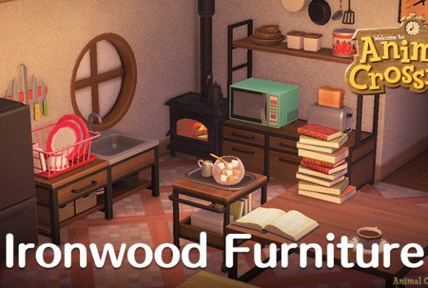 Animal Crossing: New Horizons (ACNH) Guides - Unlocks ... on Ironwood Furniture Animal Crossing  id=16280