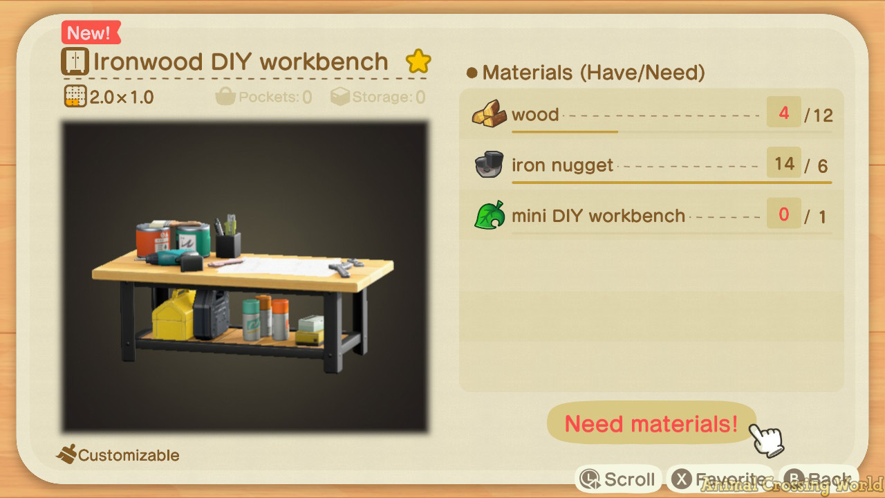 Ironwood Furniture Set: How to Craft & Get All Items ... on Ironwood Kitchenette  id=60854