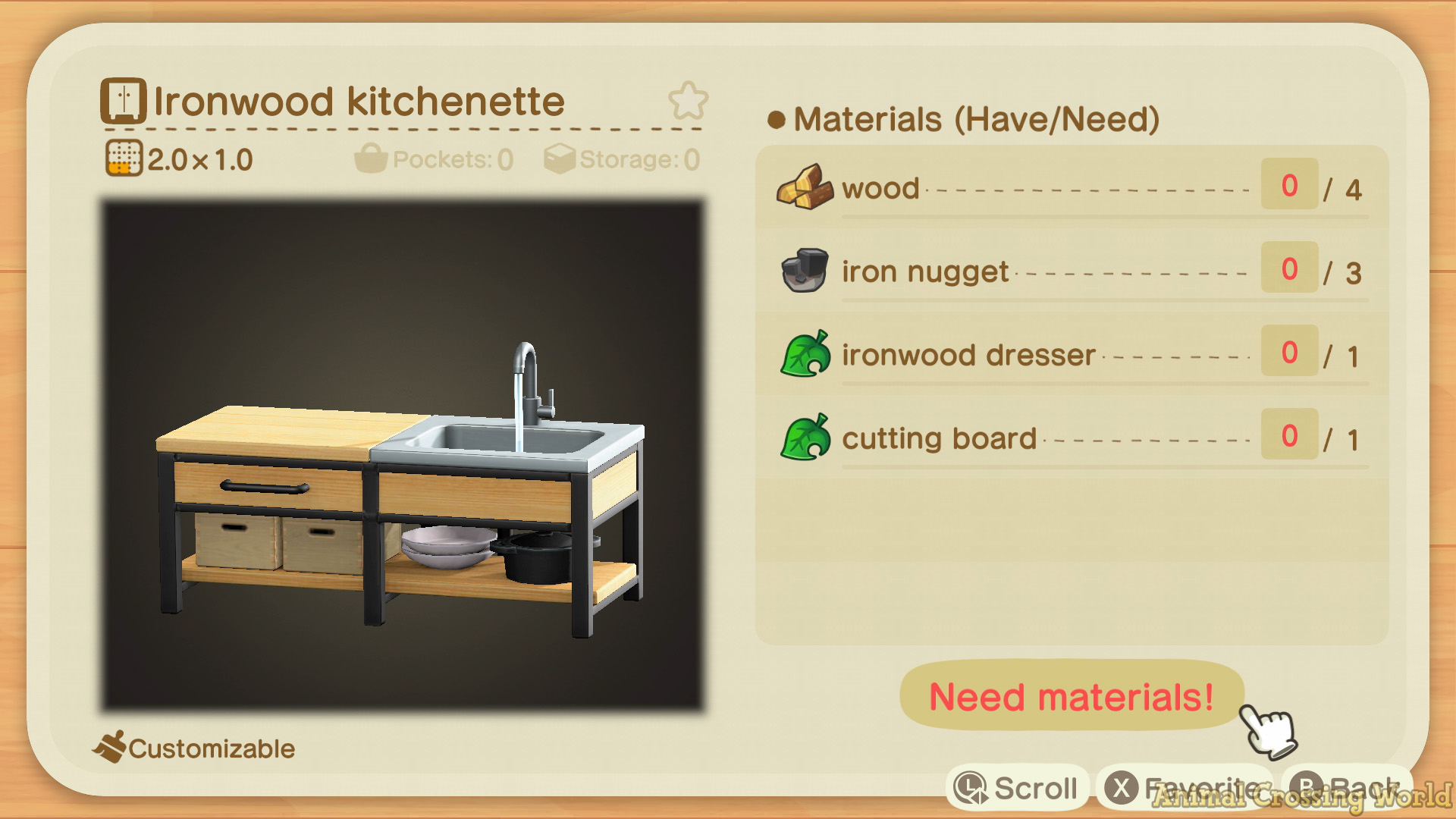 Ironwood Furniture Set: How to Craft & Get All Items ... on Ironwood Kitchenette  id=41261