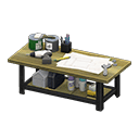 Ironwood Furniture Set: How to Craft & Get All Items ... on Animal Crossing Ironwood Dresser  id=61668