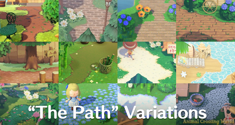16 Great Variations of The Path Pattern for Animal ... on Animal Crossing New Horizons Wood Design  id=23989