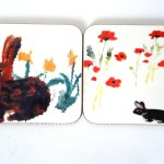 Coasters Nature, Animal Art