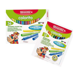Set of washable fabric pens