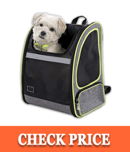 Petsfit 17.3''H13''W10.6''L Inches Comfort Dogs Carriers Backpack