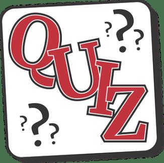 Quiz question mark