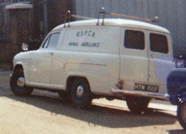 RSPCA animal ambulance London 1972