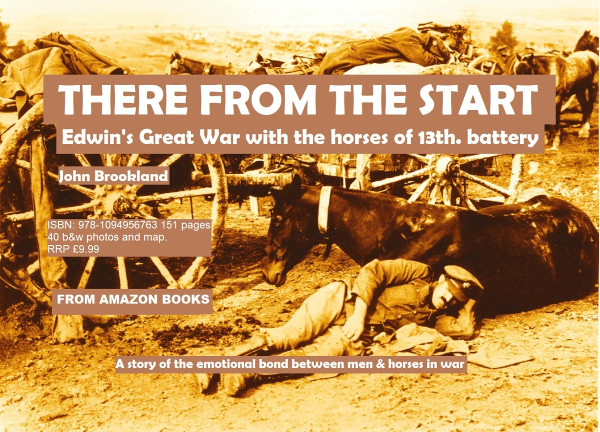 There From the Start. A book on the war horses and their carers.