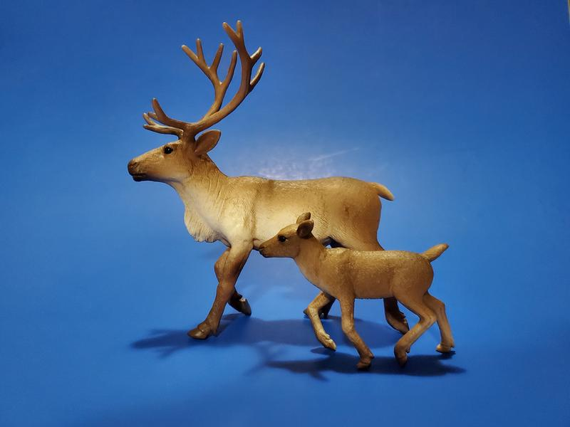 Mojo Animal Planet Wildlife Figure Reindeer Calf model 387188