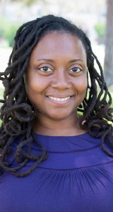 Brenda Sanders, the executive director of Afro-Vegan Society.