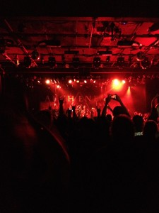 Arch Enemy at the Commodore Ballroom in Vancouver