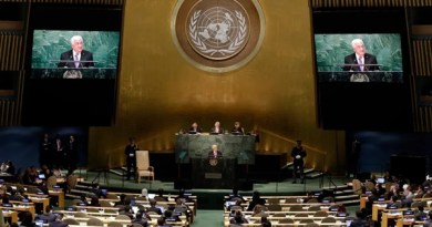 """Mahmoud Abbas la ONU: """"Acordăm Israelului un an pentru a se retrage din teritoriile palestiniene"""""""