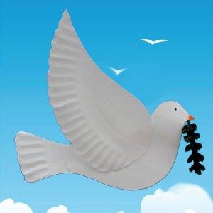 Colombe de la paix – Bricolage pour la Maison de la Paix