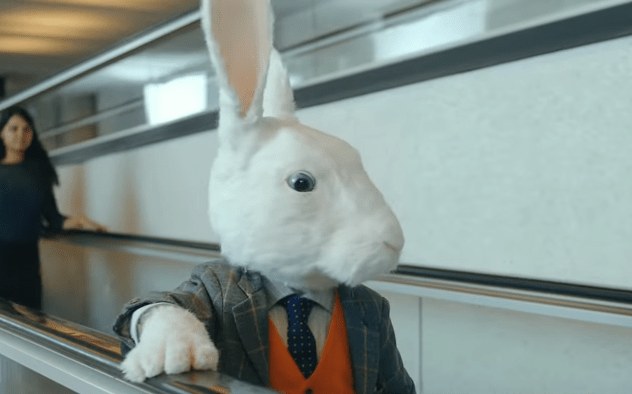 White Rabbit in Easyjet Commercial