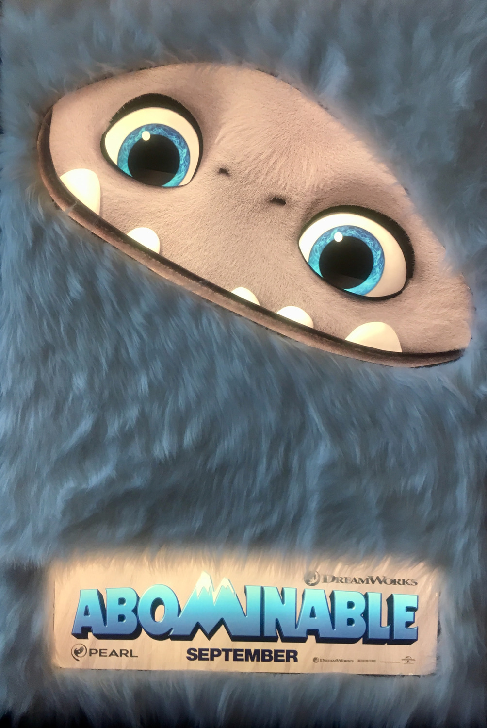 First Abominable Poster Released Animated Views