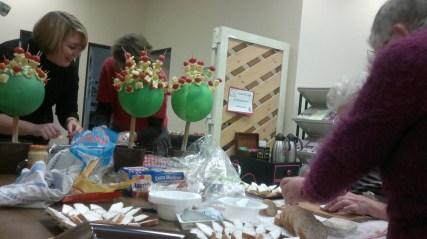 Organisation d'une fête avec bénévoles