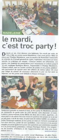 Article troc party