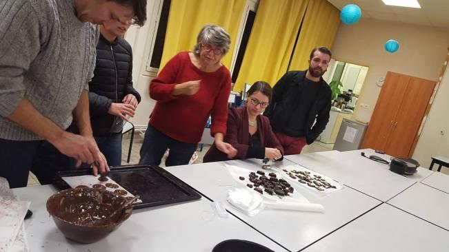 Atelier chocolat du coeur