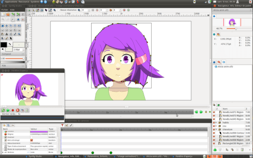 cool Synfig animation by sekaisblog