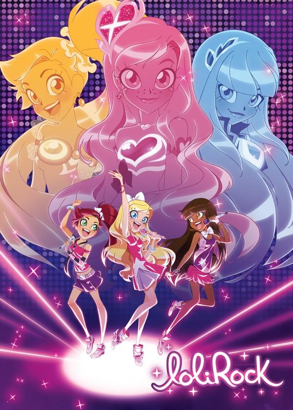 Lolirock TV show poster