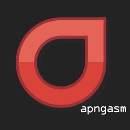 apngasm logo black