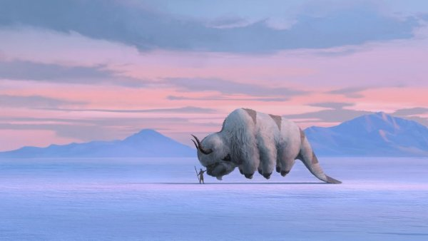 Appa from the new live-action Netflix series of Avatar: The Last Airbender