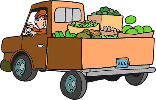 Image result for produce truck clip art