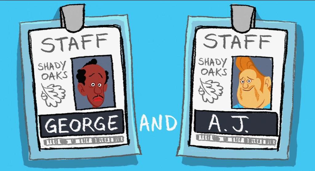 Pixar Shorts: George & A.J. (2009)