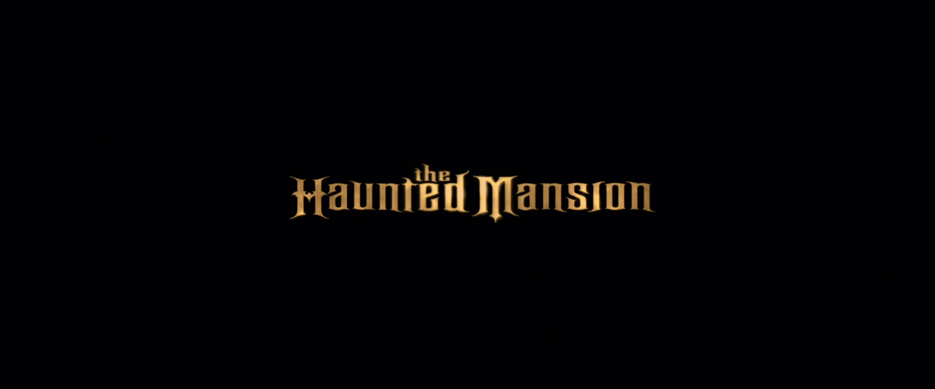 The Haunted Mansion 2003 Animation Screencaps
