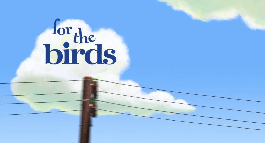 Pixar Shorts: For the Birds (2000)