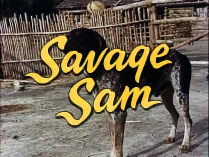 Savage Sam (1963)