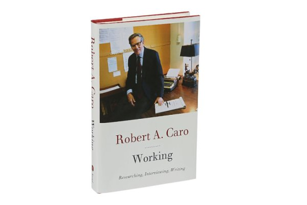 In 'Working,' Robert A. Caro Gives Us a Brief Look at the Process of Writing His Epic Books
