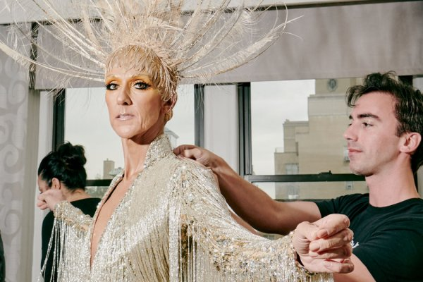 Celine Dion, at the Met Gala, Is No One's Paper Doll