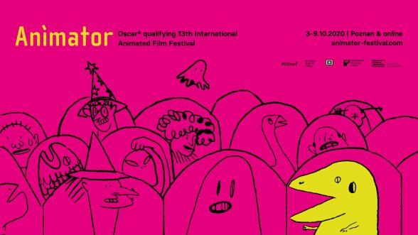 Festiwal Animator Poznań, 3–9.10.2020 - 13. MFFA ANIMATOR: identyfikacja wizualna i pierwsze programowe zapowiedzi