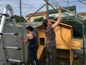 Quelques jours plus tard... Gaëlle et Elisabeth sont déjà en phase de finalisation !