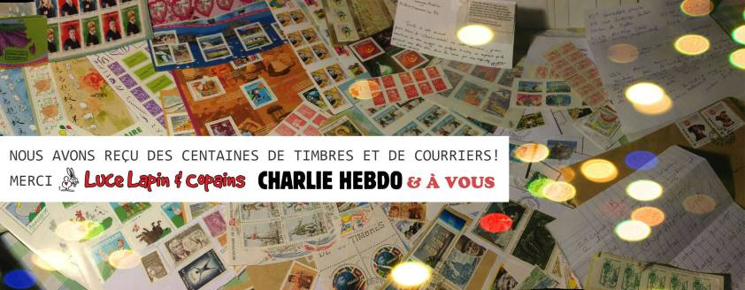 Merci Luce Lapin timbres