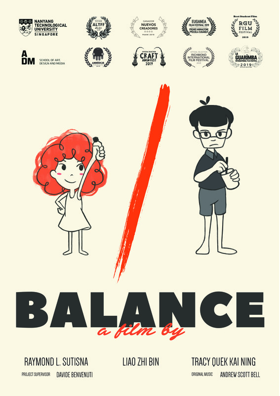 Balance Poster Raymond Limantara Sutisna