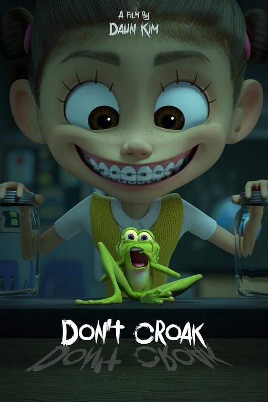 Don't Croak Daun Kim poster