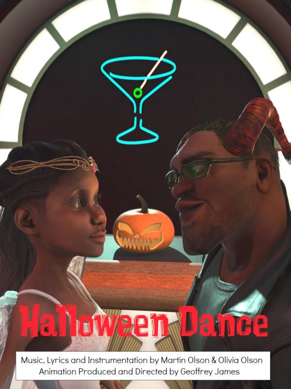 Halloween Dance Geoffrey James Animaze 2019