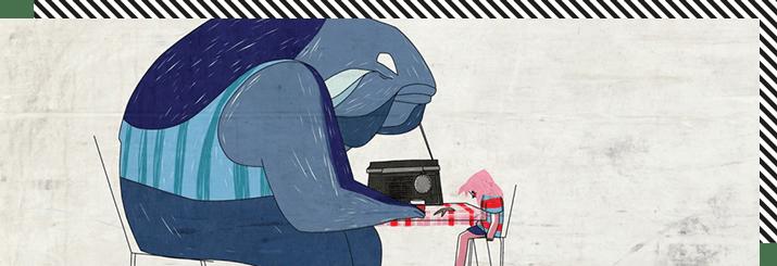 Minshar Animation Yoni Salmon at Animaze 2019