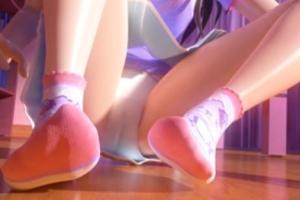 782 - 「あ!パンチラ見えたww」可愛すぎる美少女JSの妹のパンツから見えるクッキリ縦線ロリマンコに発情する兄♡
