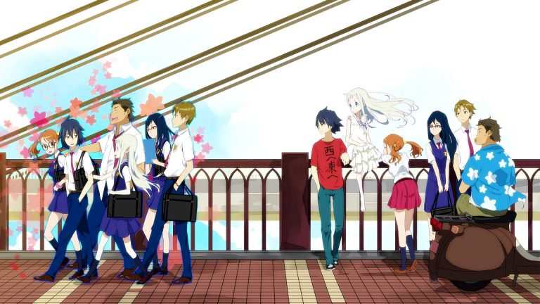 Anohana-WP3-O-768x432 Anohana Live Action TV Review