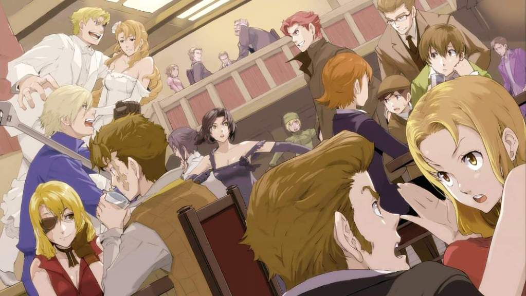 Baccano-Header-600-2 Durarara!! Season 1 Review