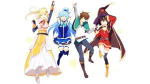 Konosuba-WP18-600 Sword Art Online Movie 1 Review